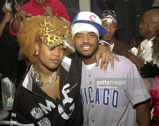 Da Brat and Larenz Tate during Remy Martin Hosts 3rd Annual Eyes Wide Shut Masquerade Ball at Vision NightClub Lounge in Atlanta Georgia United States