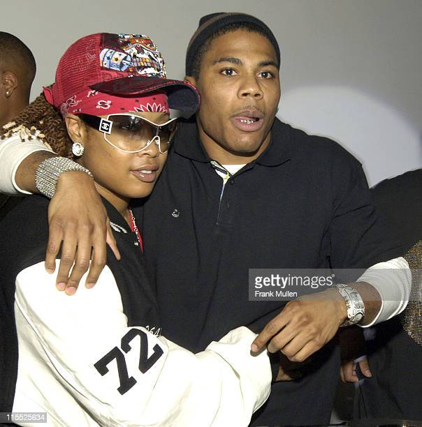 Da Brat and Nelly during 2006 BET HipHop Awards Welcome to Atlanta PreParty Hosted by Hennessy BETCom and So So Def at Mason Murer Fine Art Gallery...