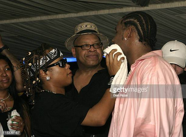 Da Brat and R Kelly during R Kelly Official CD Release Party for Happy People at Vision Night Club in Atlanta GA United States
