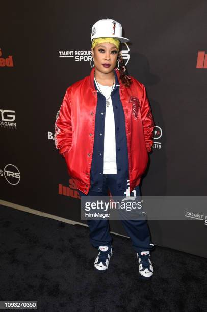 Da Brat attends Sports Illustrated Saturday Night Lights powered by Matthew Gavin Enterprises and Talent Resources Sports on February 2 2019 in...