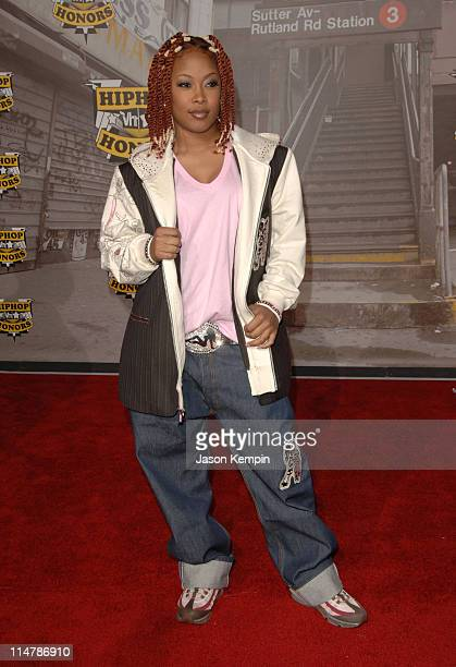 Da Brat during 2006 VH1 Hip Hop Honors Arrivals at Hammerstein Ballroom in New York City New York United States