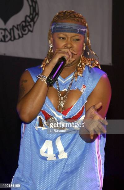 Da Brat during Arista Reloaded at the 2003 BMG US Label Presentations in New York City United States