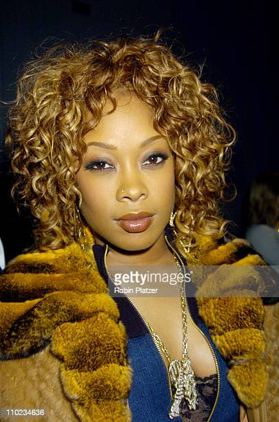 Da Brat during Olympus Fashion Week Fall 2005 Baby Phat at Skylight in New York New York United States