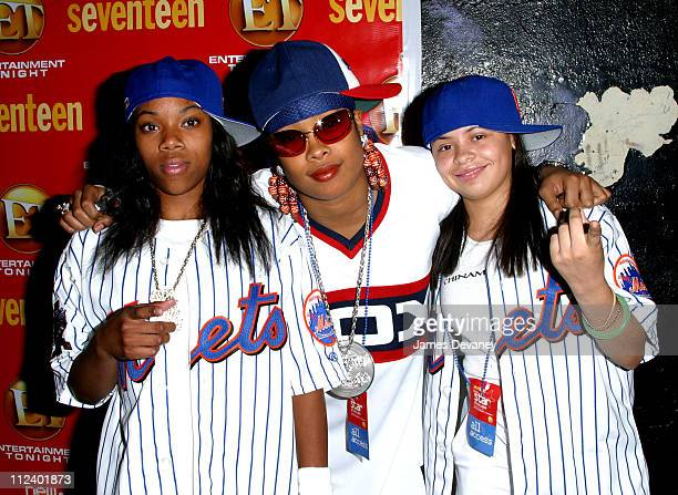 Da Brat guests during Seventeen Magazine's New Star Showcase at Roseland Ballroom in New York City New York United States