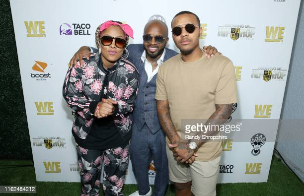 Da Brat Jermaine Dupri and Bow Wow attend WE tv Power Influence Hip Hop The Remarkable Rise Of So So Def celebration and Season 3 of Growing Up Hip...