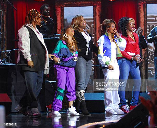 Da Brat Lil KimYoYo MC Lyte and Remy Ma during 2006 VH1 Hip Hop Honors Show at Hammerstein Ballroom in New York City New York United States