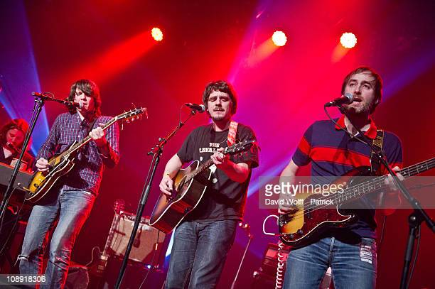 Da Brazilians opens for Jamaica performs at L'Alhambra on February 8, 2011 in Paris, France.