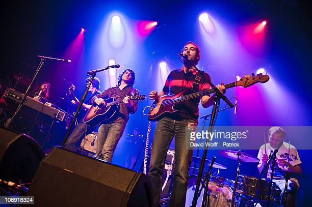 Da Brazilians opens for Jamaica performs at L'Alhambra on February 8 2011 in Paris France