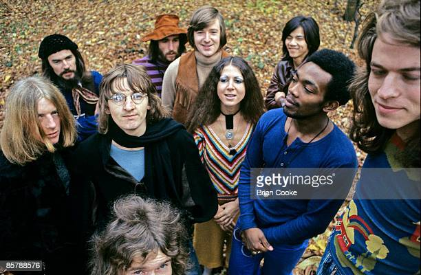 Da Da featuring Pete Gage , Elkie Brooks and Robert Palmer in the Grounds of York University in December 1970