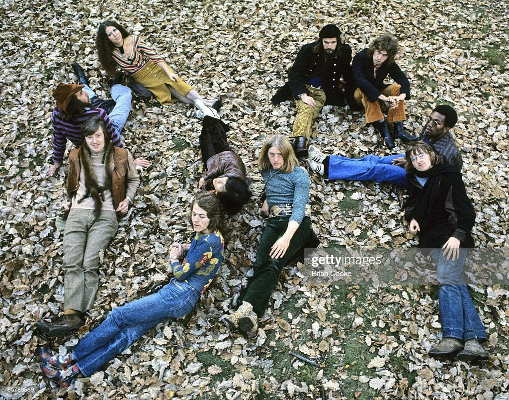 Da Da Posed At York University In 1970 : News Photo