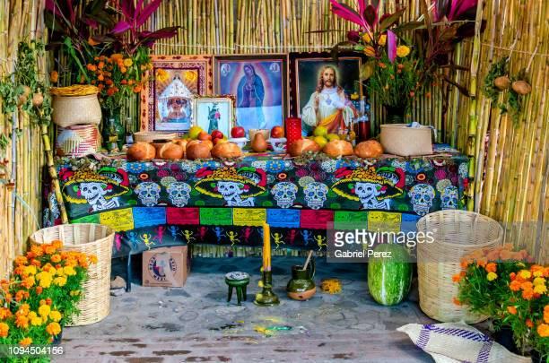 A Día de los Muertos Altar