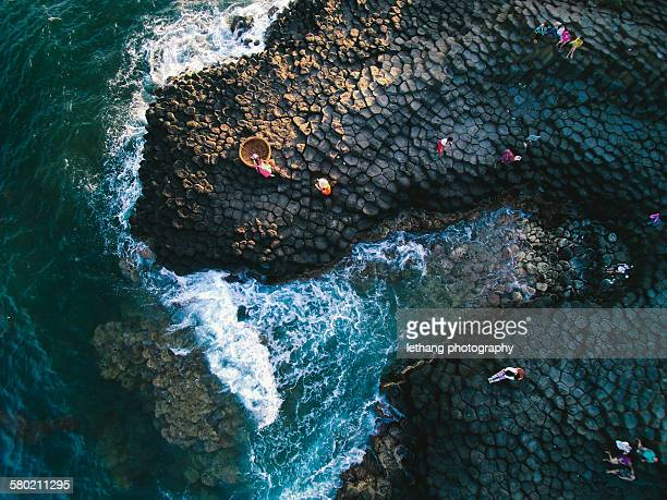 Da Dia reef view from sky