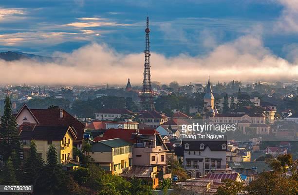 Da Lat city, Da Lat is one of the beautiful cities in Viet Nam