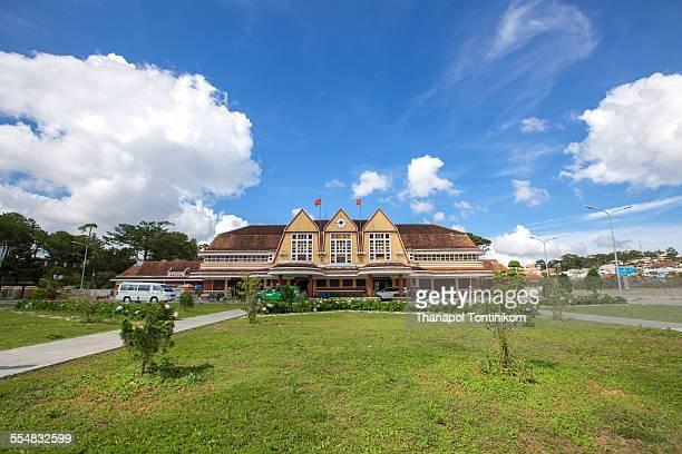 Da Lat railway station, Vietnam