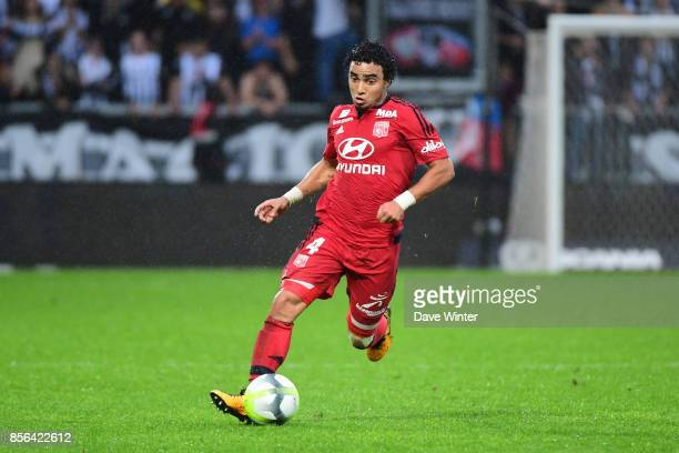 Da Silva Rafael of Lyon during the Ligue 1 match between Angers SCO and Olympique Lyonnais at Stade Raymond Kopa on October 1 2017 in Angers France