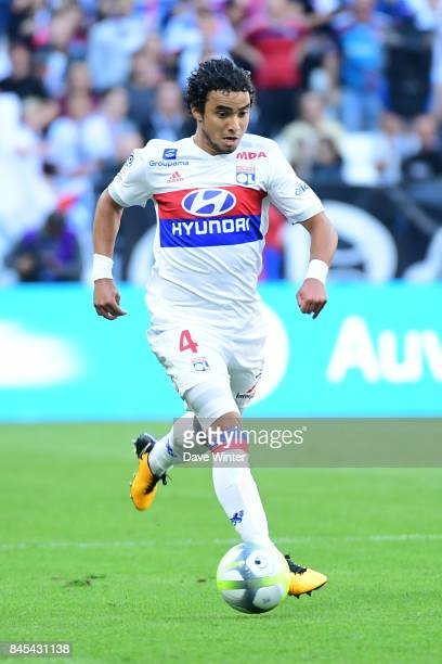 Da Silva Rafael of Lyon during the Ligue 1 match between Olympique Lyonnais and EA Guingamp at Parc Olympique on September 10 2017 in Lyon France