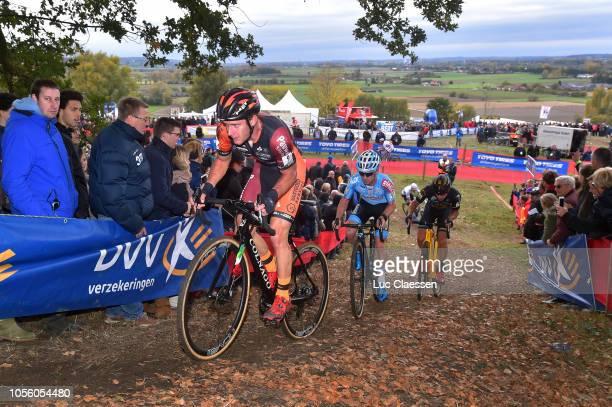 Daan Soete of Belgium and Pauwels Sauzen Vastgoedservice Continental Team / Eli Iserbyt of Belgium and Marlux Bingoal Cycling Team / during the 29th...