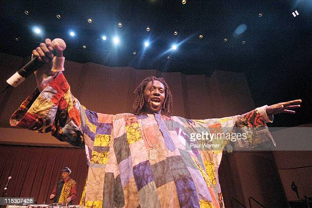 Daara J during Concert of Colors Featuring Ladysmith Black Mambazo and Indigo Girls at Max M Fisher Music Center in Detroit Michigan United States