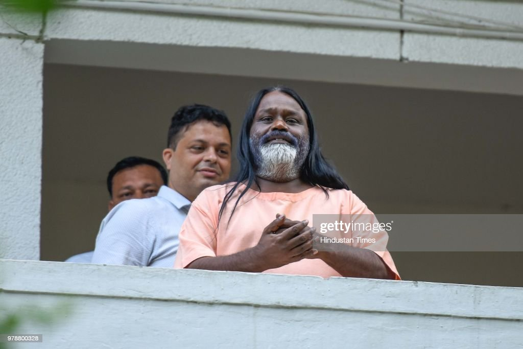 Self-Styled God-Man Daati Maharaj Joins Delhi Police Investigation In The Alleged Rape Case