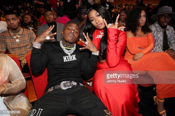 DaBaby and Megan Thee Stallion attend the BET Hip Hop Awards 2019 at Cobb Energy Center on October 05 2019 in Atlanta Georgia