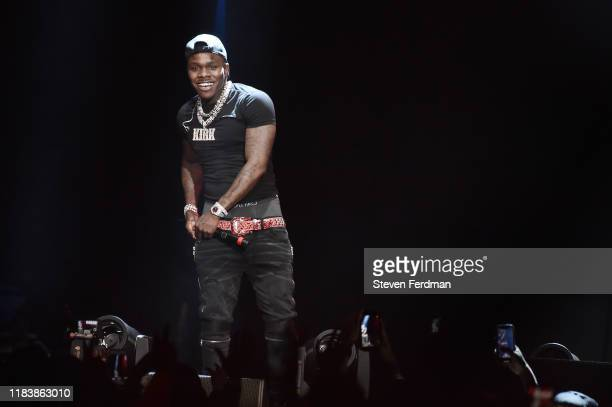 DaBaby performs at Power 1051's Powerhouse 2019 concert at Prudential Center on October 26 2019 in Newark New Jersey