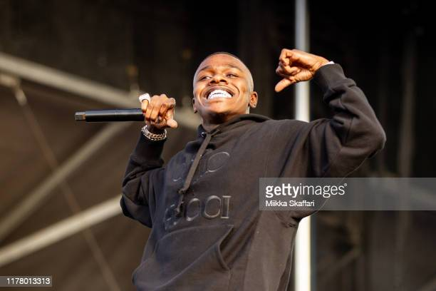 DaBaby performs at Rolling Loud festival at OaklandAlameda County Coliseum on September 29 2019 in Oakland California