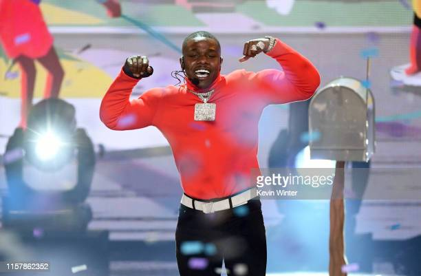 DaBaby performs onstage at the 2019 BET Awards on June 23 2019 in Los Angeles California
