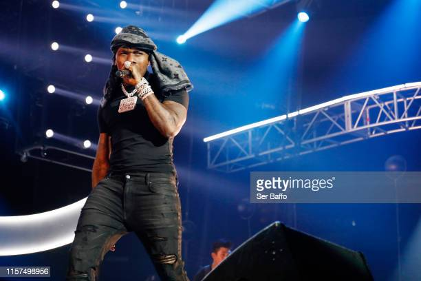 DaBaby performs onstage at the 2019 BET Experience STAPLES Center Concert Sponsored By CocaCola at Staples Center on June 21 2019 in Los Angeles...