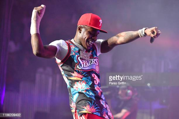 DaBaby performs onstage during 2019 Hot 1079 Birthday Bash at State Farm Arena on June 15 2019 in Atlanta Georgia
