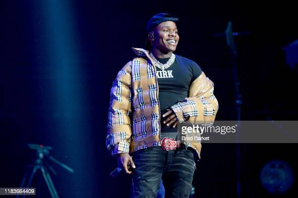 DaBaby performs onstage during the Power 1051'S Powerhouse 2019 presented by ATT at Prudential Center on October 26 2019 in Newark New Jersey
