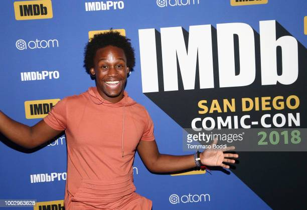 Dabier Snell attends the #IMDboat Party At San Diego ComicCon 2018 Sponsored By Atom Tickets at The IMDb Yacht on July 20 2018 in San Diego California