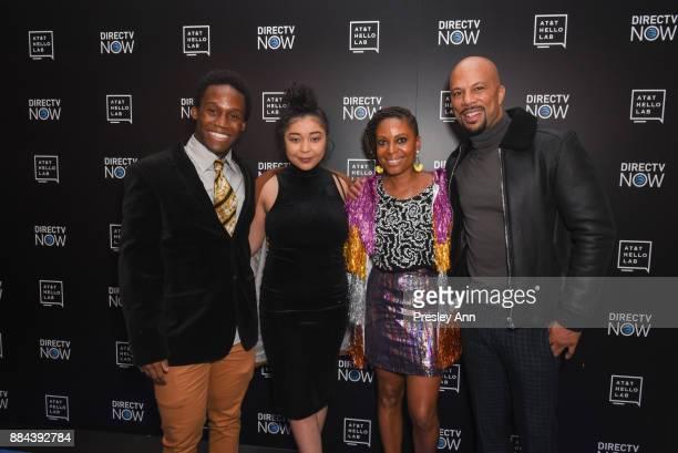 Dabier Snell Nefertite Nguvu and Common attend ATT Hello Lab's Mentorship Program Debuts Five Short Films Red Carpet at Hammer Museum on December 1...