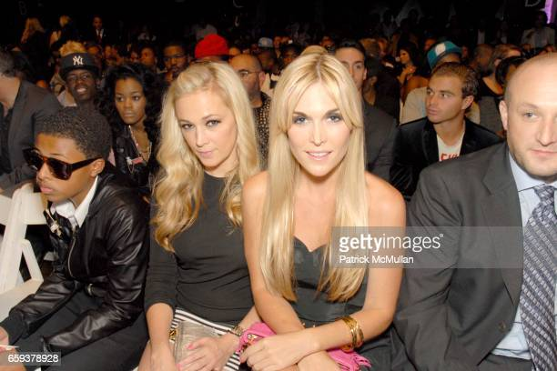 Dabney Mercer and Tinsley Mortimer attend BABY PHAT by Kimora Lee Simmons Spring 2010 Collection at Roseland Ballroom on September 15 2009 in New...