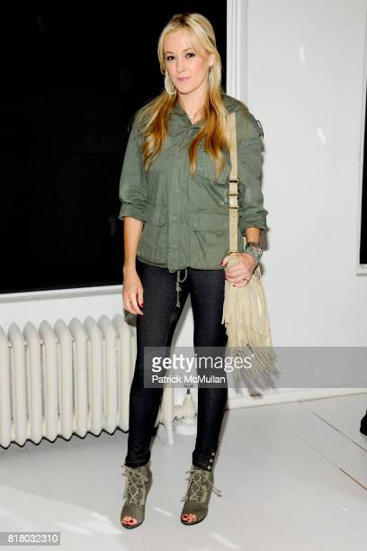 Dabney Mercer attends SANCHEZ Spring 2011 Presentation at 148 West 37th St on September 16 2010 in New York City