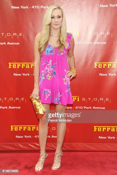 Dabney Mercer attends The FERRARI Store of New York Launch Party at FERRARI Store of New York on June 23 2010 in New York City