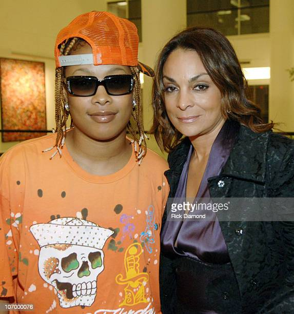 DaBrat and Jasmine Guy during Turks Caicos International Film Festival Inside at World Trade Center @ Sun Trust Plaza in Atlanta Georgia United States