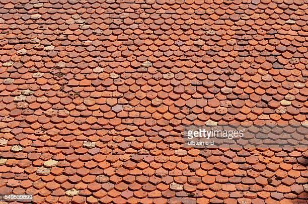 Dach mit Biberschwanzschindeln