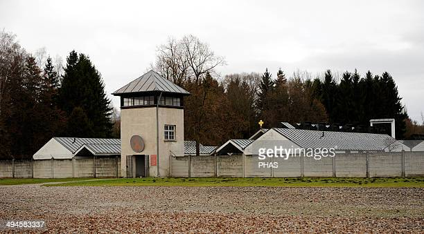 Dachau Concentration Camp Nazi camp of prisoners opened in 1933 Carmelite Convent 1963 Designed by Josef Wiedemann Entrance Germany