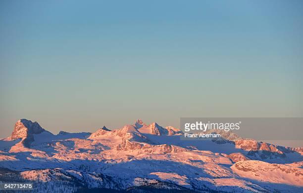 Dachstein in morning light, Austria