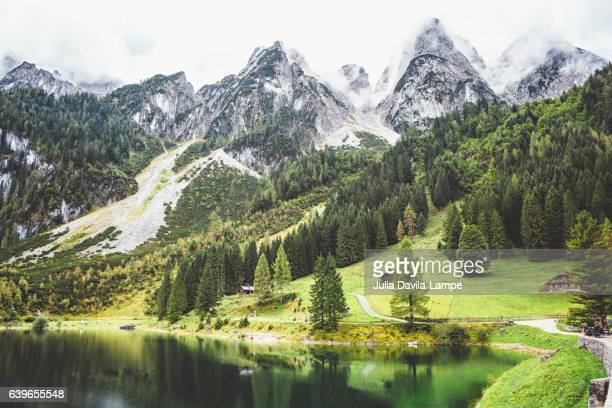 dachstein mountains - upper austria stock pictures, royalty-free photos & images