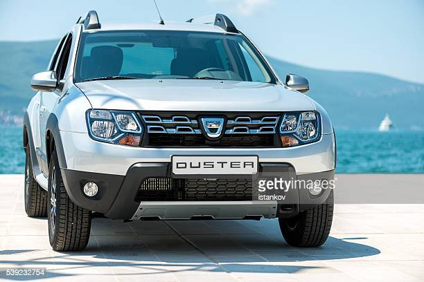 dacia duster suv - renault stock pictures, royalty-free photos & images