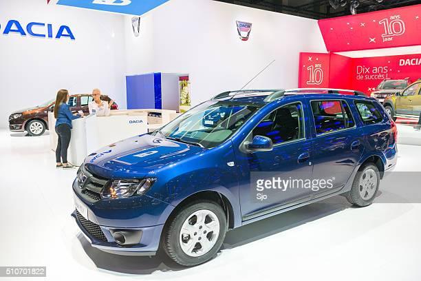 Carrinha Dacia Logan MCV (volume globular médio)
