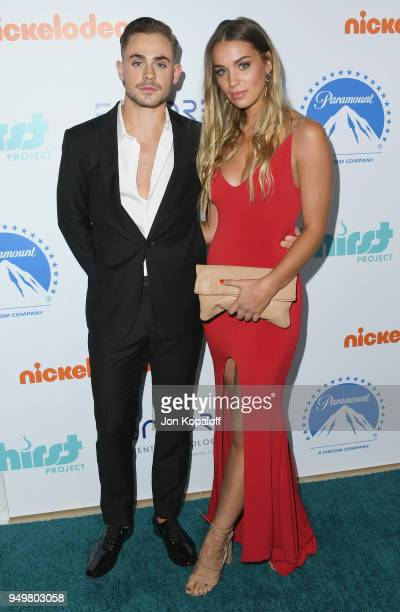 Dacre Montgomery and Liv Pollock attend the 9th Annual Thirst Gala at The Beverly Hilton Hotel on April 21 2018 in Beverly Hills California