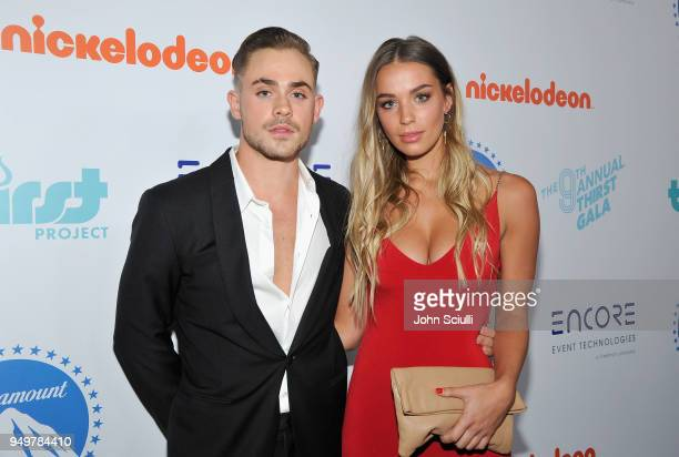 Dacre Montgomery and Liv Pollock attend The Thirst Project's 9th Annual Thirst Gala at The Beverly Hills Hotel on April 21 2018 in Beverly Hills...