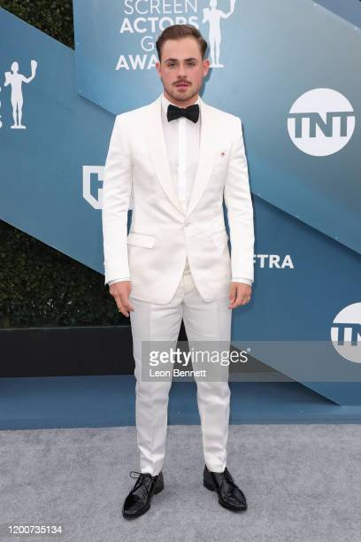 Dacre Montgomery attends 26th Annual Screen Actors Guild Awards at The Shrine Auditorium on January 19 2020 in Los Angeles California