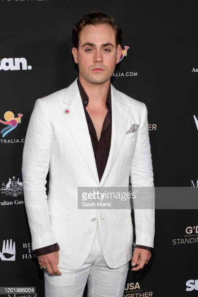 Dacre Montgomery attends G'Day USA 2020 at Beverly Wilshire A Four Seasons Hotel on January 25 2020 in Beverly Hills California