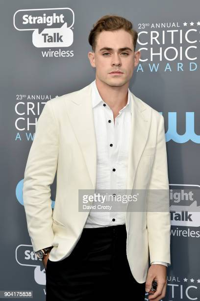 Dacre Montgomery attends The 23rd Annual Critics' Choice Awards Arrivals at The Barker Hanger on January 11 2018 in Santa Monica California