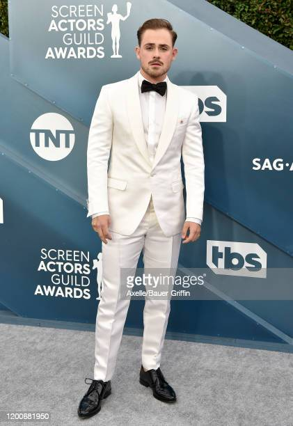 Dacre Montgomery attends the 26th Annual Screen Actors Guild Awards at The Shrine Auditorium on January 19 2020 in Los Angeles California