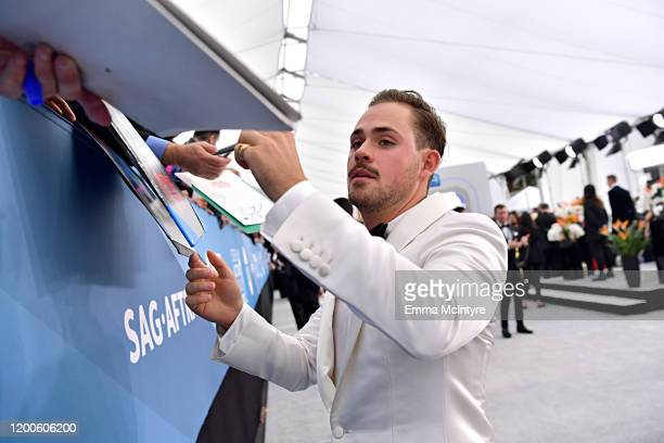 Dacre Montgomery attends the 26th Annual Screen ActorsGuild Awards at The Shrine Auditorium on January 19 2020 in Los Angeles California 721313