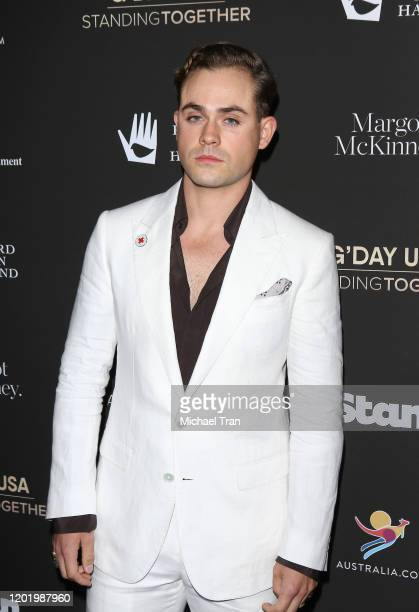 Dacre Montgomery attends the G'Day USA 2020 held at Beverly Wilshire A Four Seasons Hotel on January 25 2020 in Beverly Hills California